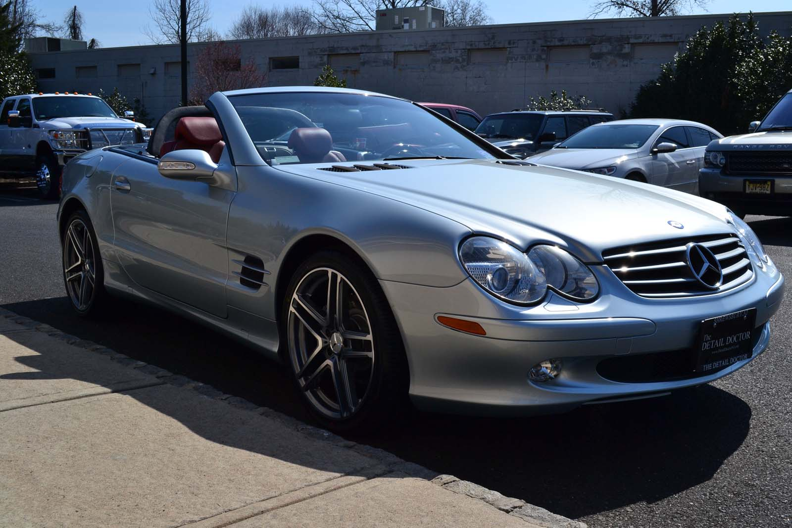 2003 mercedes benz sl 500r pre owned for Used mercedes benz sl500