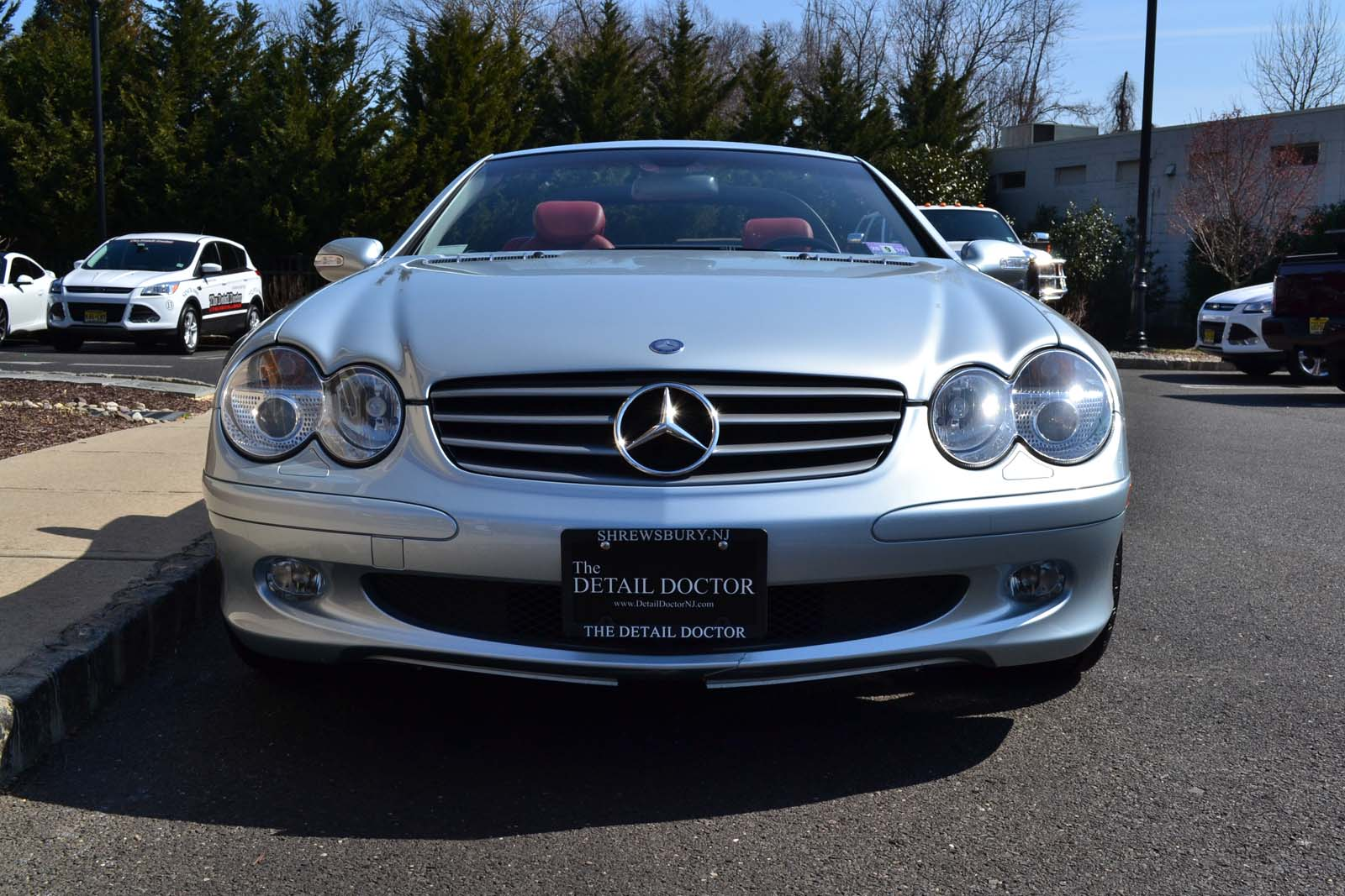 2003 mercedes benz sl 500r pre owned for Mercedes benz buckhead preowned