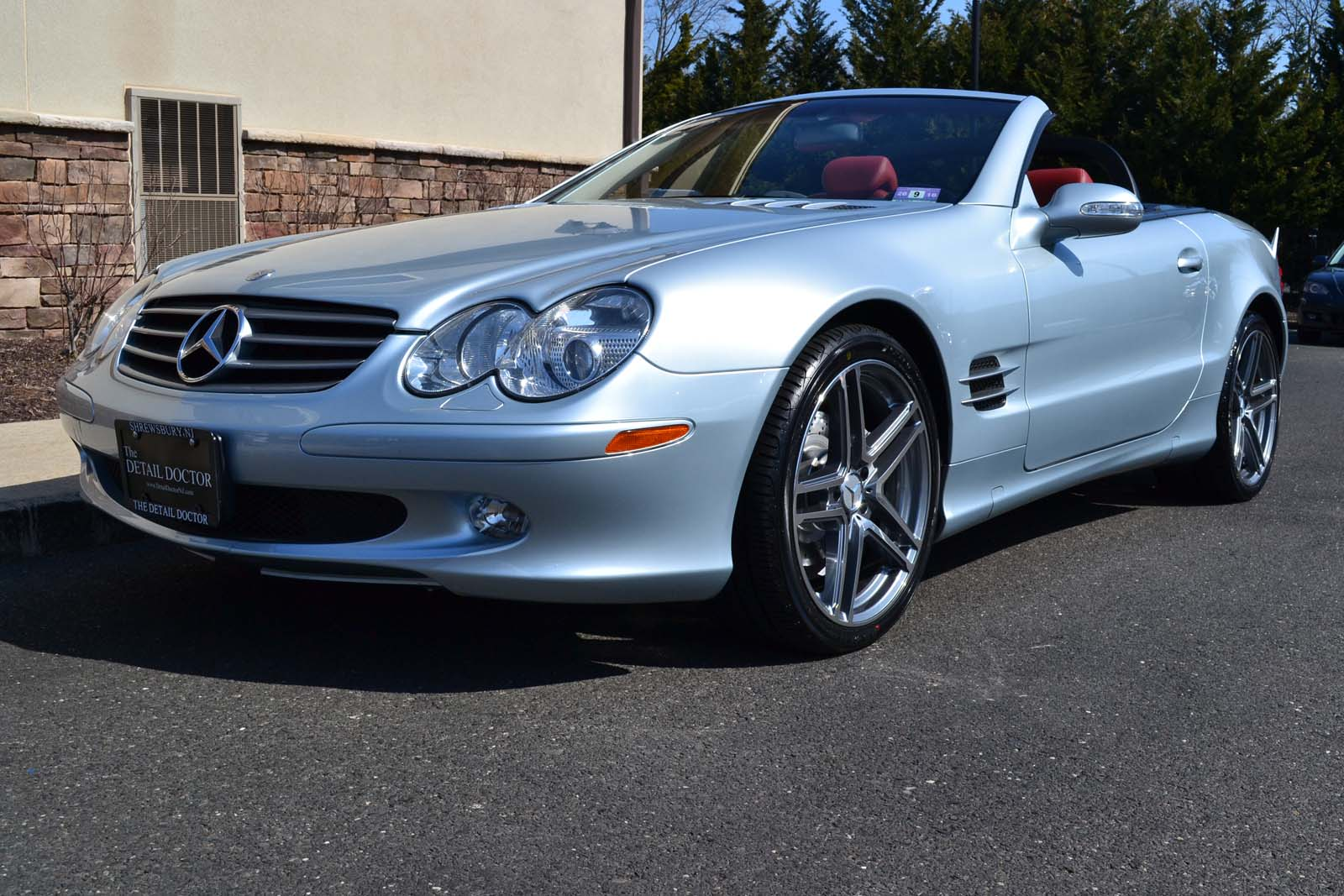 2003 mercedes benz sl 500r pre owned for Mercedes benz sl price