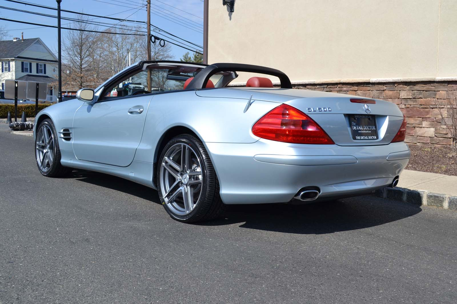 2003 Mercedes Benz Sl 500r Pre Owned