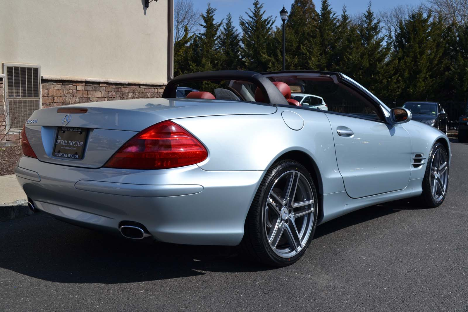 2003 mercedes benz sl 500r pre owned for Mercedes benz little silver nj