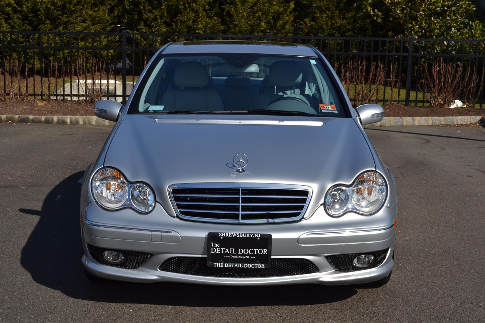 Make mercedes model c230 sport trim sport body type sedan exterior color metallic silver interior color grey mb tex engine 2 5 l v 6 cylinder
